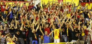 Il pubblico della Sigma Barcellona
