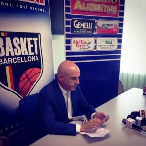 Immacolato Bonina in conferenza stampa
