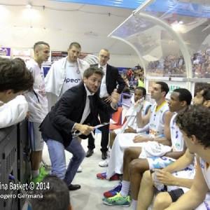 Le indicazioni di coach Pozzecco alla panchina