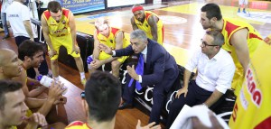 Marco Calvani a colloquio con la squadra