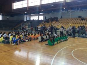 Il folto gruppo di partecipanti al Jamboree Regionale di Ragusa