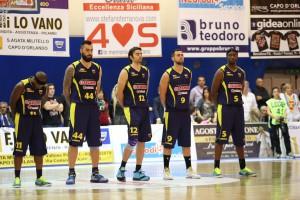 Il quintetto della Sigma Barcellona