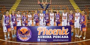 La Phoenix Pescara è stata promossa in serie A3