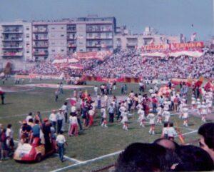 I festeggiamenti per la promozione, stagione 1982-83