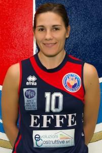 Alessandra Maccarrone, Capitano dell'Effe Volley