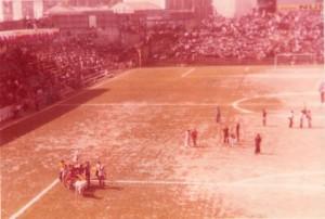 IL Celeste si prepara a festeggiare il ritorno in serie C del Messina, 1973-74