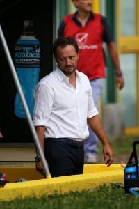 Fabrizio Ferrigno in panchina