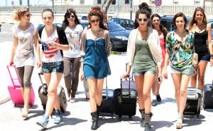 """Le prime prefinaliste sulle strade di Gallipoli per """"Miss Mondo 2014"""""""