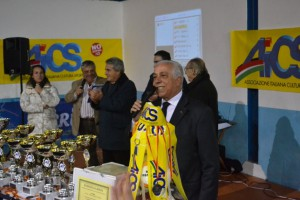Il presidente AICS Messina Lillo Margareci
