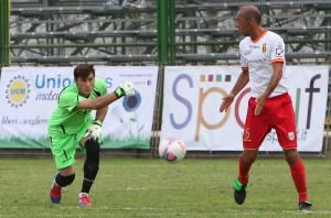 Ignoffo e Lagomarsini in azione con la maglia del Messina