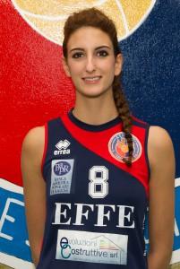 Matilde Mercieca, centrale della Effe Volley