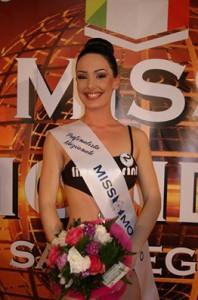 """valeria De Fraia, una delle prefinaliste proveniente da Quartu S.Elena (Cagliari). Lo scorso anno fu finalista nazionale di """"Una Ragazza per il Cinema"""" conquistando il titolo di """"Miss Karamella"""""""