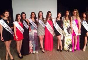 """Foto di gruppo per le miss premiate della """"Festa di Primavera 2014"""""""