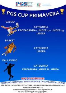 La locandina della 1° Primavera Cup