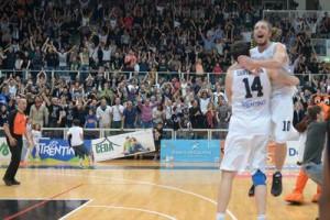 La gioa di Toto Forray (Trento) per la finale conquistata