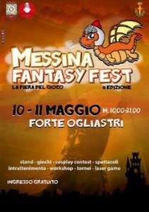 """La locandina del """"Messina Fantasy Fest"""""""