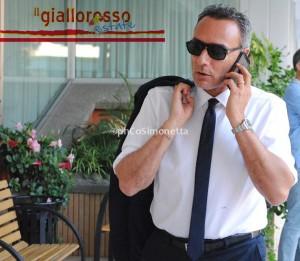 Il direttore sportivo del Catanzaro Armando Ortoli