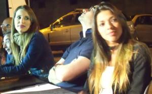 Due miss veterane in giuria: da sinistra Stefania Sciarrone e Cristina Di Siero (scatto di R.S.)