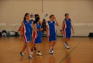 Le ragazze  dell'Alma Basket vicecampioni regionali under 13