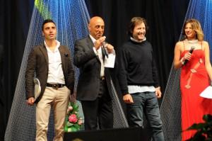 """Nello scatto di Francesco Saya un momento de """"Il Gran Galà"""" con premi per l'arbitro Francesco Saja e Guido Cusimano"""