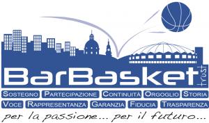 Il consorzio Bar Basket ha lanciato l'iniziativa del trust per aiutare la società