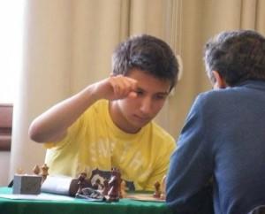 Andrea Favaloro durante una partita