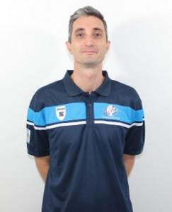 Il tecnico dell'Effe Volley, Claudio Mantarro