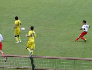 Una fase del match del San Filippo tra Messina e Frosinone