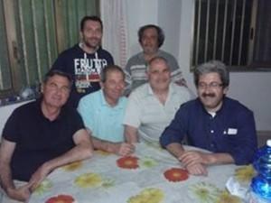 Il gruppo di tifosi che ha dato vita agli Eagles Santa Teresa