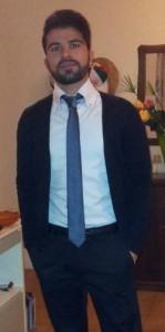 Il collega Francesco Gugliotta, neo addetto stampa e responsabile comunicazione della Tiger Brolo