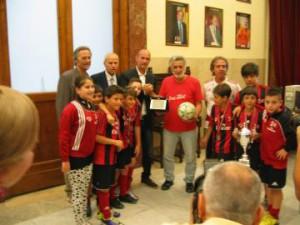 Accorinti insieme all Scuola Calcio Sicilia