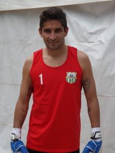 Il portiere Marcelo Salgueiro