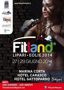 """La locandina di """"Fitland 2014""""."""