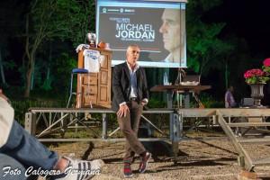 Federico Buffa racconta Jordan a Villa Piccolo di Capo d'Orlando