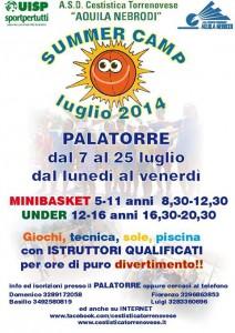 SummerCamp 2014 della Cestistica Torrenovese