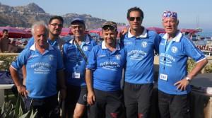 Alcuni dirigenti della Ciclo Club Naxos