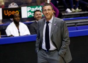 Giulio Griccioli, neo coach dell'Orlandina Basket