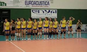 Le ragazze del Messina Volley