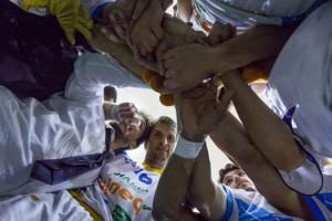 """Pozzecco e i suoi giocatori """"We Are Capo""""!"""