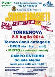 "Tornei ""Play Basket Play UISP"" Torrenova"