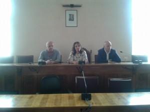 Il sindaco Maria Teresa Collica insieme al presidnete Bonina