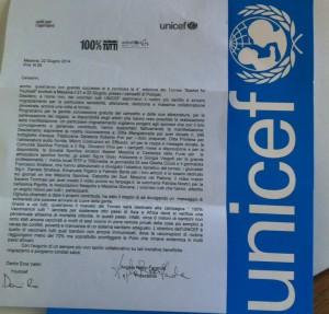 La lettera dei volontari Younicef