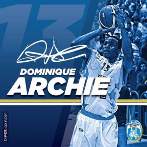Rinnovo del contratto fino al 2016 per Dominique Archie