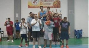 Gli atleti premiati al 1° Ciantro Arena 3vs3 Street Basket