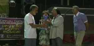 Il sindaco di Messina Renato Accorinti nell'edizione 2013