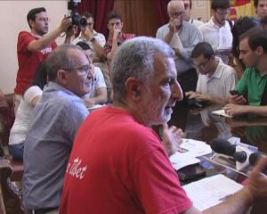 Ancora De Cola ed il primo cittadino a colloquio con la stampa