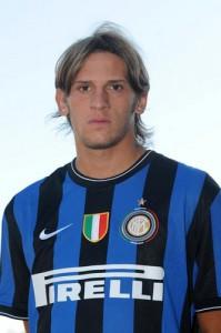 Esposito con la divisa dell'Inter. Ha svolto tutta la trafila delle giovanili nel club milanese