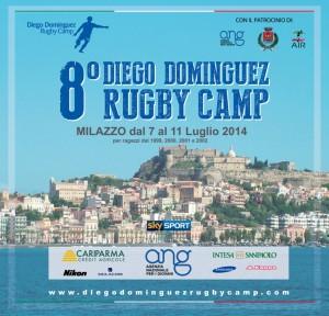 La locandina del Diego Dominguez Rugby Camp