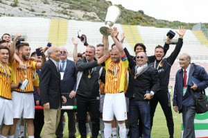 Il Bassano, vincitore della Supercoppa di Seconda Divisione 2013-14