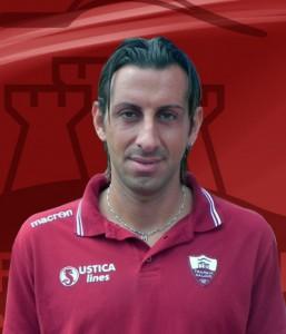 Giuseppe Madonia con la maglia del Trapani